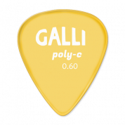 Galli P72R - Polycarbonaatti 0.60mm plektra