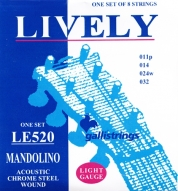 Galli Strings Mandolin LE 520 Light mandoliinin kiele