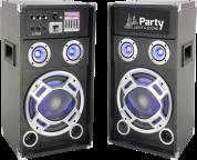 Makee aktiivikaiutinpari 400W USB/Bluetooth/Mikrofoni