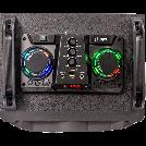 """Party Light & Sound DJ äänijärjestelmä USB, Bluetooth, TF sisääntuloilla ja mikrofonilla 2 x 10"""" 700w"""