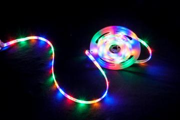 Party Light & Sound RGBA matalan profiilin LED-nauha 3m