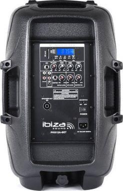Ibiza Sound 2x500W kannettava äänentoisto BT/SD/Radio