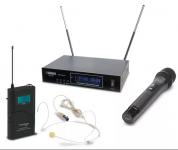 AudioDesignPRO PMU-31 langaton ammattijärjestelmä käsimikillä ja headsetillä
