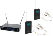AudioDesignPRO PMU-32 langaton ammattijärjestelmä kahdella headsetillä