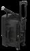 Kannettava akkukäyttöinen 800W kaiutin+ 2x langatonta mikkiä/USB/SD+BT