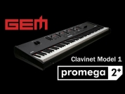 GEM Promega 2+ sekä +teline/kuulokkeet +sustainpedaali