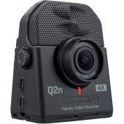 Zoom Q2N videokamera tallentimella