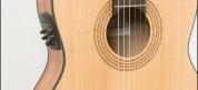 LaMancha ohutkoppainen kapeakaulainen mikitetty klassinen kitara