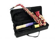 Dimavery alttosaksofoni punainen