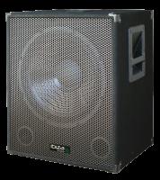 "Ibiza Sound 15"" 800W aktiivi subwoofer"