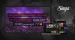 KARAOKE Nomad äänentoisto+ 2x langatonta mikkiä USB/SD/BT + Singa