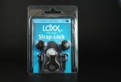 Hihnalukot LOXX musta sähkökitaralle