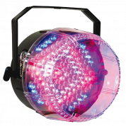 Ibiza Sound kolmevärinen strobo valo