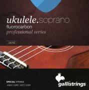 Galli UX750 sopraanoukulelen kielet