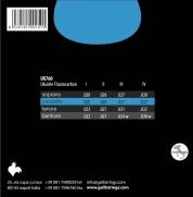 Galli UX760 konserttiukulelen kielet