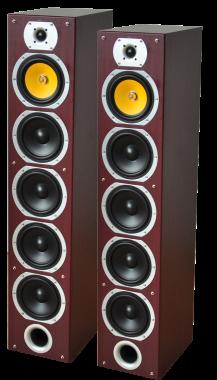 LTC-Audio 5.0 V9 kotiteatteri kaiuttimet mahonki