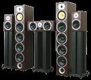 LTC-Audio 5.0 V9 home theater system mahogany