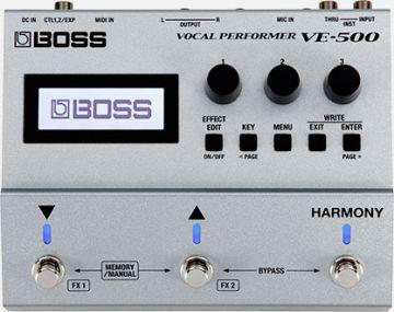 Boss VE-500 Vocal Performer lauluprosessori