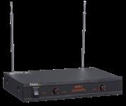 Ibiza Sound VHF2H kahden langattoman mikrofonin järjestelmä