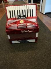 Walther Special 2-äänikertainen pianoharmonikka