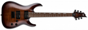 Ltd ESP H-200FM Dark Brown Sunburst