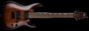 Ltd ESP H-200FM Dark Brown Sunburst